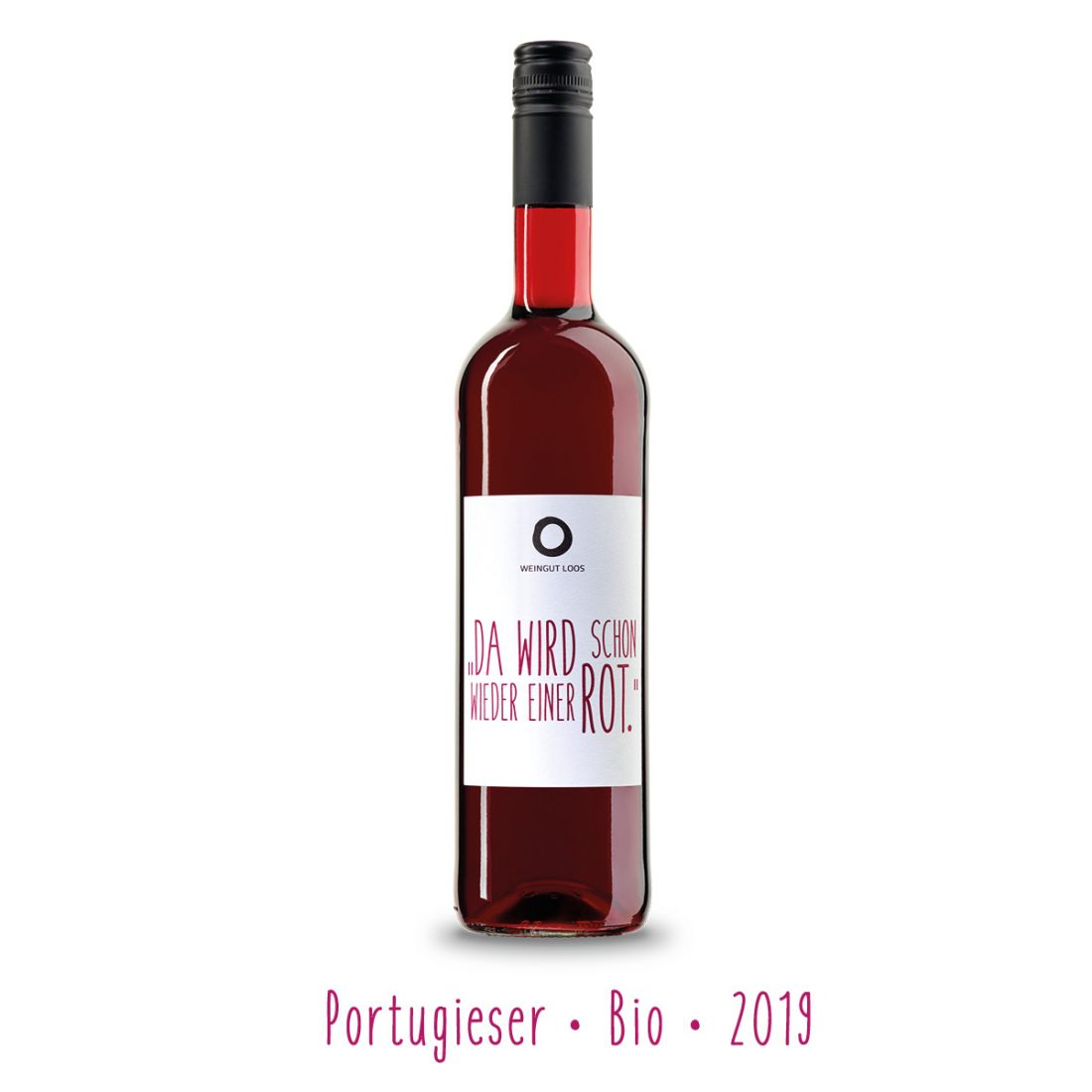 Weingut Loos hier und jetzt da wird schon wieder einer rot