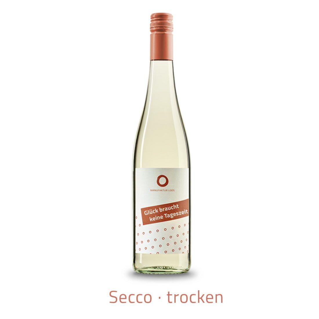 Weingut Loos prickelnd glueck braucht keine tageszeit