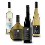 Vier Weine aus unterschiedlichen Linien