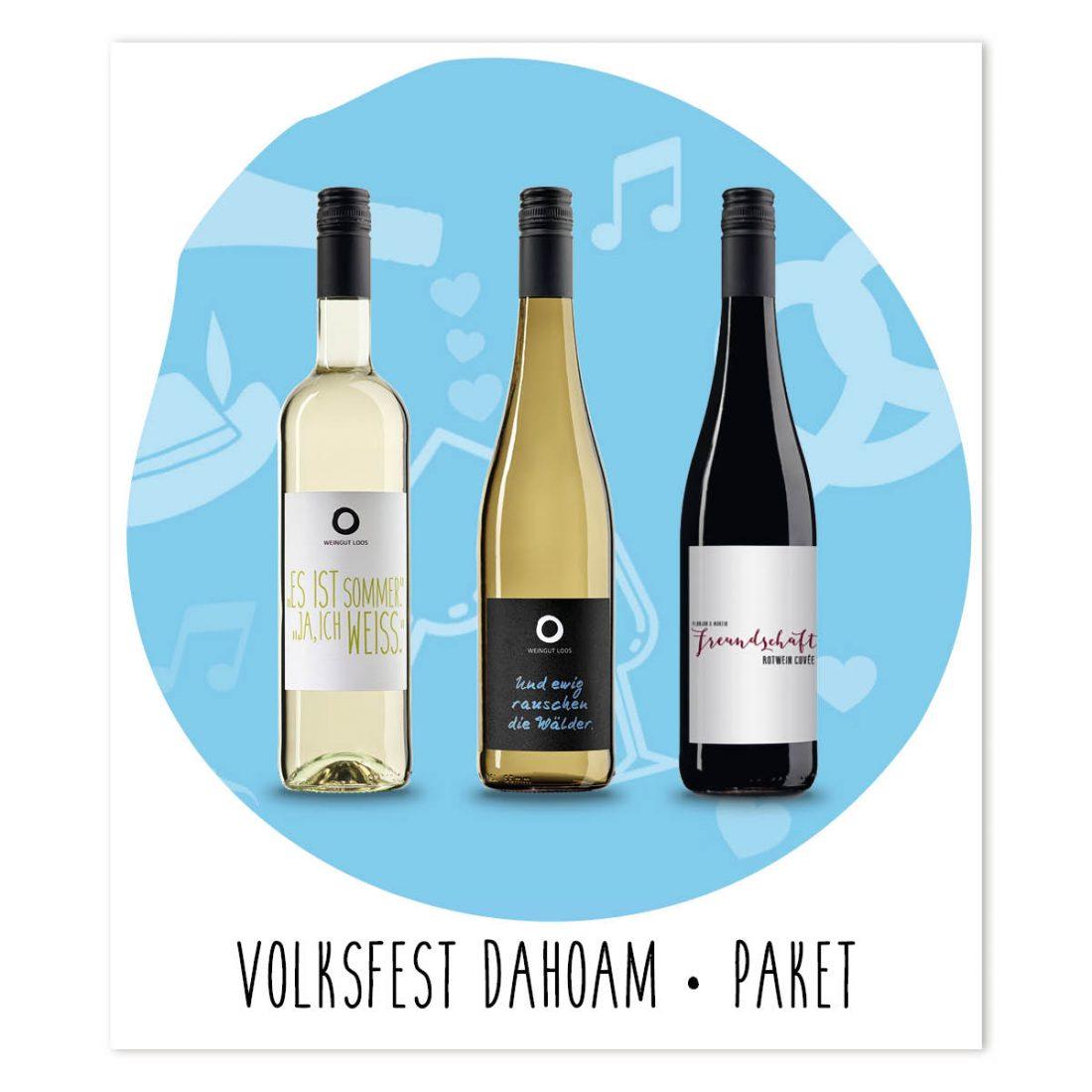 Weingut Loos - Volksfest Dahoam - Paket